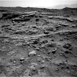 Nasa's Mars rover Curiosity acquired this image using its Right Navigation Camera on Sol 1371, at drive 2526, site number 54