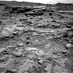 Nasa's Mars rover Curiosity acquired this image using its Right Navigation Camera on Sol 1371, at drive 2538, site number 54