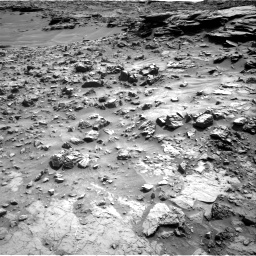 Nasa's Mars rover Curiosity acquired this image using its Right Navigation Camera on Sol 1371, at drive 2556, site number 54
