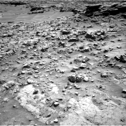 Nasa's Mars rover Curiosity acquired this image using its Right Navigation Camera on Sol 1371, at drive 2562, site number 54