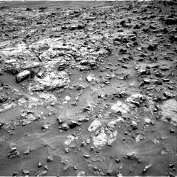 Nasa's Mars rover Curiosity acquired this image using its Right Navigation Camera on Sol 1371, at drive 2574, site number 54
