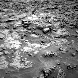 Nasa's Mars rover Curiosity acquired this image using its Right Navigation Camera on Sol 1371, at drive 2586, site number 54