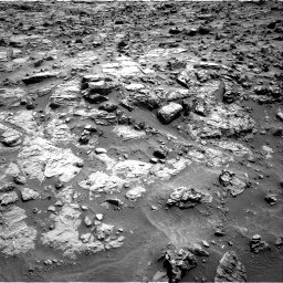 Nasa's Mars rover Curiosity acquired this image using its Right Navigation Camera on Sol 1371, at drive 2592, site number 54
