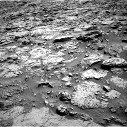 Nasa's Mars rover Curiosity acquired this image using its Right Navigation Camera on Sol 1371, at drive 2622, site number 54
