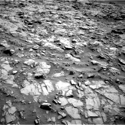 Nasa's Mars rover Curiosity acquired this image using its Right Navigation Camera on Sol 1371, at drive 2658, site number 54