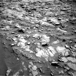 Nasa's Mars rover Curiosity acquired this image using its Right Navigation Camera on Sol 1371, at drive 2664, site number 54