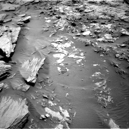 Nasa's Mars rover Curiosity acquired this image using its Right Navigation Camera on Sol 1371, at drive 2682, site number 54