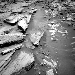 Nasa's Mars rover Curiosity acquired this image using its Right Navigation Camera on Sol 1371, at drive 2688, site number 54