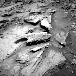 Nasa's Mars rover Curiosity acquired this image using its Right Navigation Camera on Sol 1371, at drive 2694, site number 54