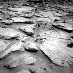 Nasa's Mars rover Curiosity acquired this image using its Right Navigation Camera on Sol 1371, at drive 2712, site number 54