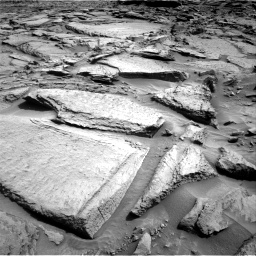 Nasa's Mars rover Curiosity acquired this image using its Right Navigation Camera on Sol 1371, at drive 2724, site number 54