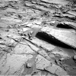 Nasa's Mars rover Curiosity acquired this image using its Right Navigation Camera on Sol 1371, at drive 2742, site number 54