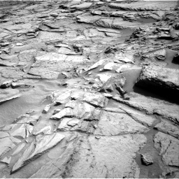 Nasa's Mars rover Curiosity acquired this image using its Right Navigation Camera on Sol 1371, at drive 2748, site number 54