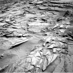 Nasa's Mars rover Curiosity acquired this image using its Right Navigation Camera on Sol 1371, at drive 2754, site number 54