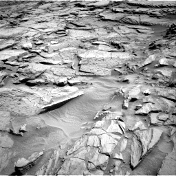 Nasa's Mars rover Curiosity acquired this image using its Right Navigation Camera on Sol 1371, at drive 2760, site number 54