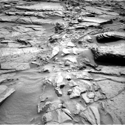 Nasa's Mars rover Curiosity acquired this image using its Right Navigation Camera on Sol 1371, at drive 2778, site number 54