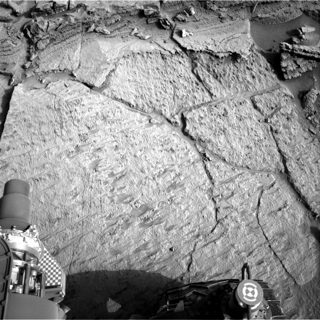 Nasa's Mars rover Curiosity acquired this image using its Right Navigation Camera on Sol 1371, at drive 2784, site number 54