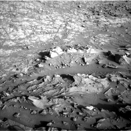 Nasa's Mars rover Curiosity acquired this image using its Left Navigation Camera on Sol 1373, at drive 2838, site number 54