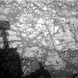 Nasa's Mars rover Curiosity acquired this image using its Left Navigation Camera on Sol 1373, at drive 2874, site number 54
