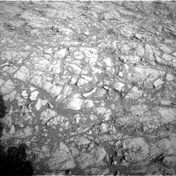 Nasa's Mars rover Curiosity acquired this image using its Left Navigation Camera on Sol 1373, at drive 2886, site number 54