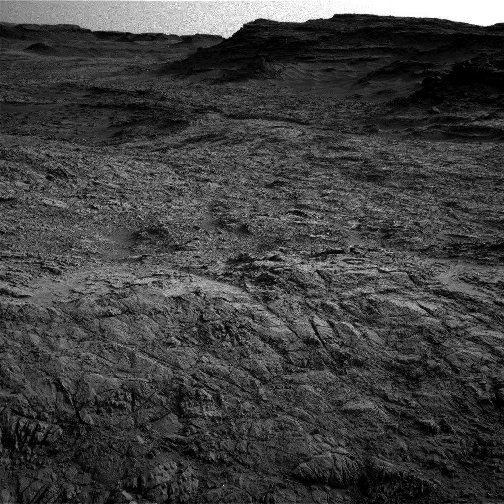 NASA's Mars rover Curiosity acquired this image using its Left Navigation Camera (Navcams) on Sol 1373