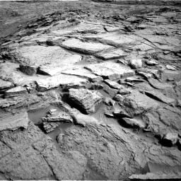 Nasa's Mars rover Curiosity acquired this image using its Right Navigation Camera on Sol 1373, at drive 2796, site number 54