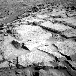Nasa's Mars rover Curiosity acquired this image using its Right Navigation Camera on Sol 1373, at drive 2814, site number 54