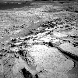 Nasa's Mars rover Curiosity acquired this image using its Right Navigation Camera on Sol 1373, at drive 2820, site number 54
