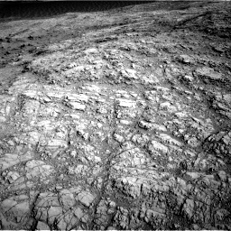 Nasa's Mars rover Curiosity acquired this image using its Right Navigation Camera on Sol 1373, at drive 2934, site number 54