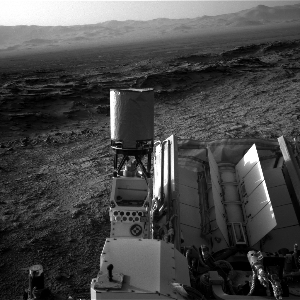 Nasa's Mars rover Curiosity acquired this image using its Right Navigation Camera on Sol 1373, at drive 3036, site number 54