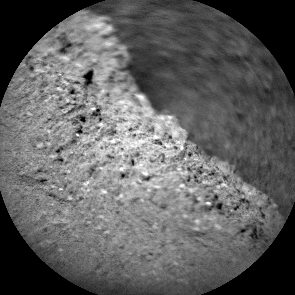 Nasa's Mars rover Curiosity acquired this image using its Chemistry & Camera (ChemCam) on Sol 1373, at drive 2784, site number 54