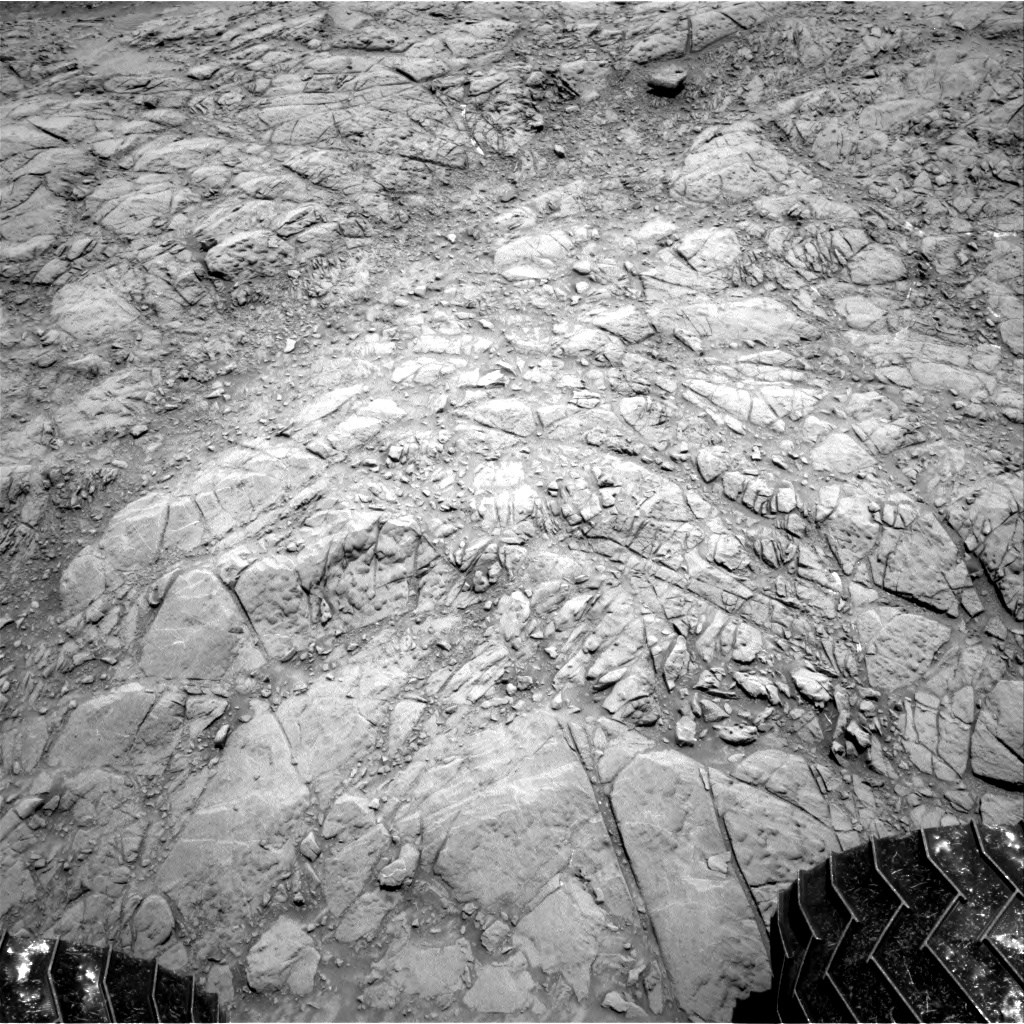 Nasa's Mars rover Curiosity acquired this image using its Right Navigation Camera on Sol 1374, at drive 3036, site number 54