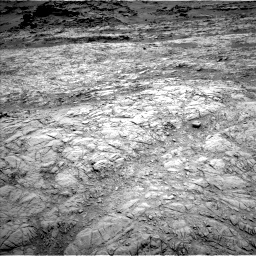 Nasa's Mars rover Curiosity acquired this image using its Left Navigation Camera on Sol 1376, at drive 3036, site number 54