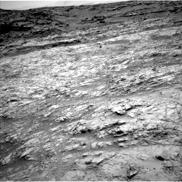 Nasa's Mars rover Curiosity acquired this image using its Left Navigation Camera on Sol 1376, at drive 3066, site number 54
