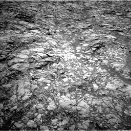 Nasa's Mars rover Curiosity acquired this image using its Left Navigation Camera on Sol 1376, at drive 3120, site number 54