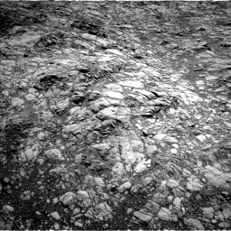 Nasa's Mars rover Curiosity acquired this image using its Left Navigation Camera on Sol 1376, at drive 3126, site number 54