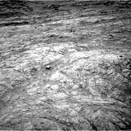 Nasa's Mars rover Curiosity acquired this image using its Right Navigation Camera on Sol 1376, at drive 3042, site number 54