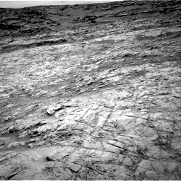 Nasa's Mars rover Curiosity acquired this image using its Right Navigation Camera on Sol 1376, at drive 3060, site number 54