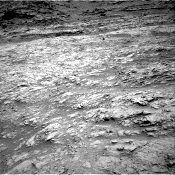 Nasa's Mars rover Curiosity acquired this image using its Right Navigation Camera on Sol 1376, at drive 3072, site number 54