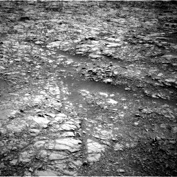 Nasa's Mars rover Curiosity acquired this image using its Right Navigation Camera on Sol 1376, at drive 3096, site number 54