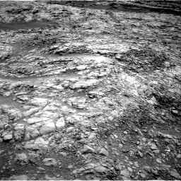 Nasa's Mars rover Curiosity acquired this image using its Right Navigation Camera on Sol 1376, at drive 3156, site number 54