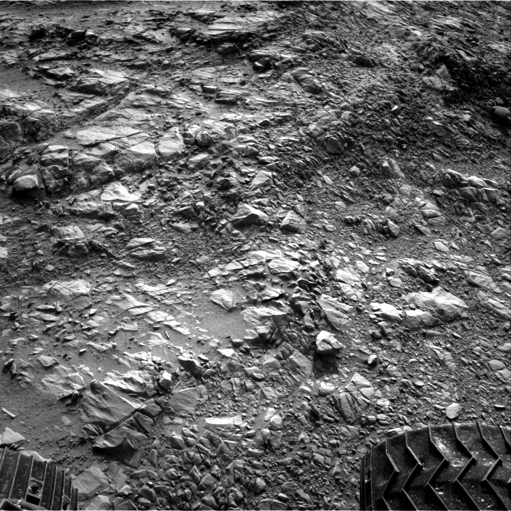 Nasa's Mars rover Curiosity acquired this image using its Right Navigation Camera on Sol 1376, at drive 0, site number 55
