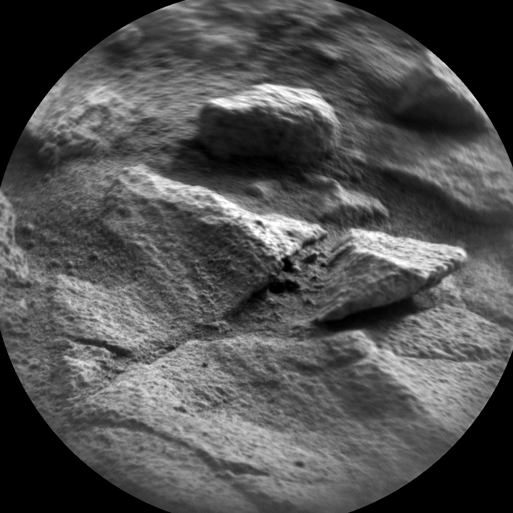 Nasa's Mars rover Curiosity acquired this image using its Chemistry & Camera (ChemCam) on Sol 1376, at drive 0, site number 55