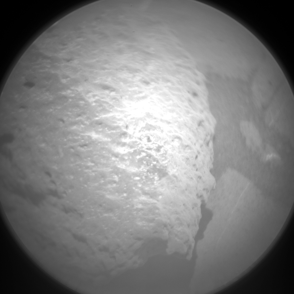 Nasa's Mars rover Curiosity acquired this image using its Chemistry & Camera (ChemCam) on Sol 1378, at drive 0, site number 55