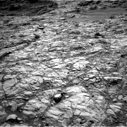 Nasa's Mars rover Curiosity acquired this image using its Left Navigation Camera on Sol 1378, at drive 36, site number 55