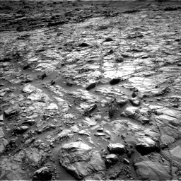Nasa's Mars rover Curiosity acquired this image using its Left Navigation Camera on Sol 1378, at drive 108, site number 55
