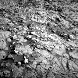 Nasa's Mars rover Curiosity acquired this image using its Left Navigation Camera on Sol 1378, at drive 162, site number 55