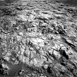Nasa's Mars rover Curiosity acquired this image using its Left Navigation Camera on Sol 1378, at drive 180, site number 55