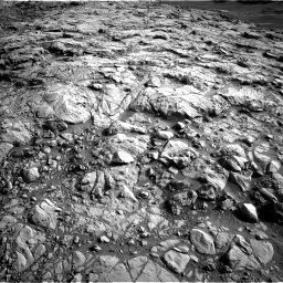 Nasa's Mars rover Curiosity acquired this image using its Left Navigation Camera on Sol 1378, at drive 192, site number 55