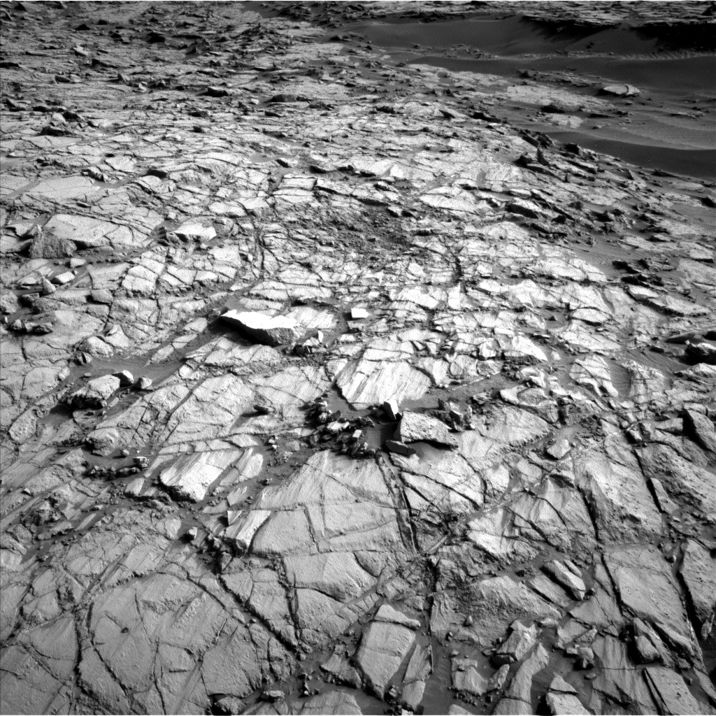 Nasa's Mars rover Curiosity acquired this image using its Left Navigation Camera on Sol 1378, at drive 264, site number 55